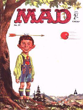 MAD Magazine #27 • Great Britain
