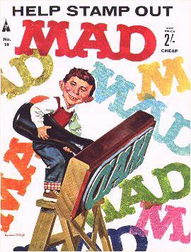 MAD Magazine #28 • Great Britain