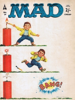 Go to MAD Magazine #29 • Great Britain
