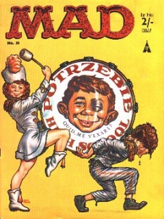 Go to MAD Magazine #33 • Great Britain