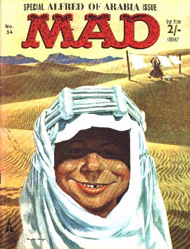 MAD Magazine #34 • Great Britain