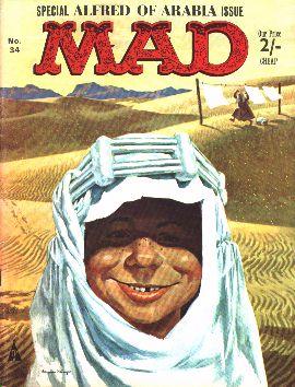 MAD Magazine #34 • Great Britain