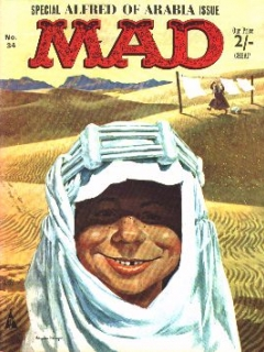 Go to MAD Magazine #34 • Great Britain