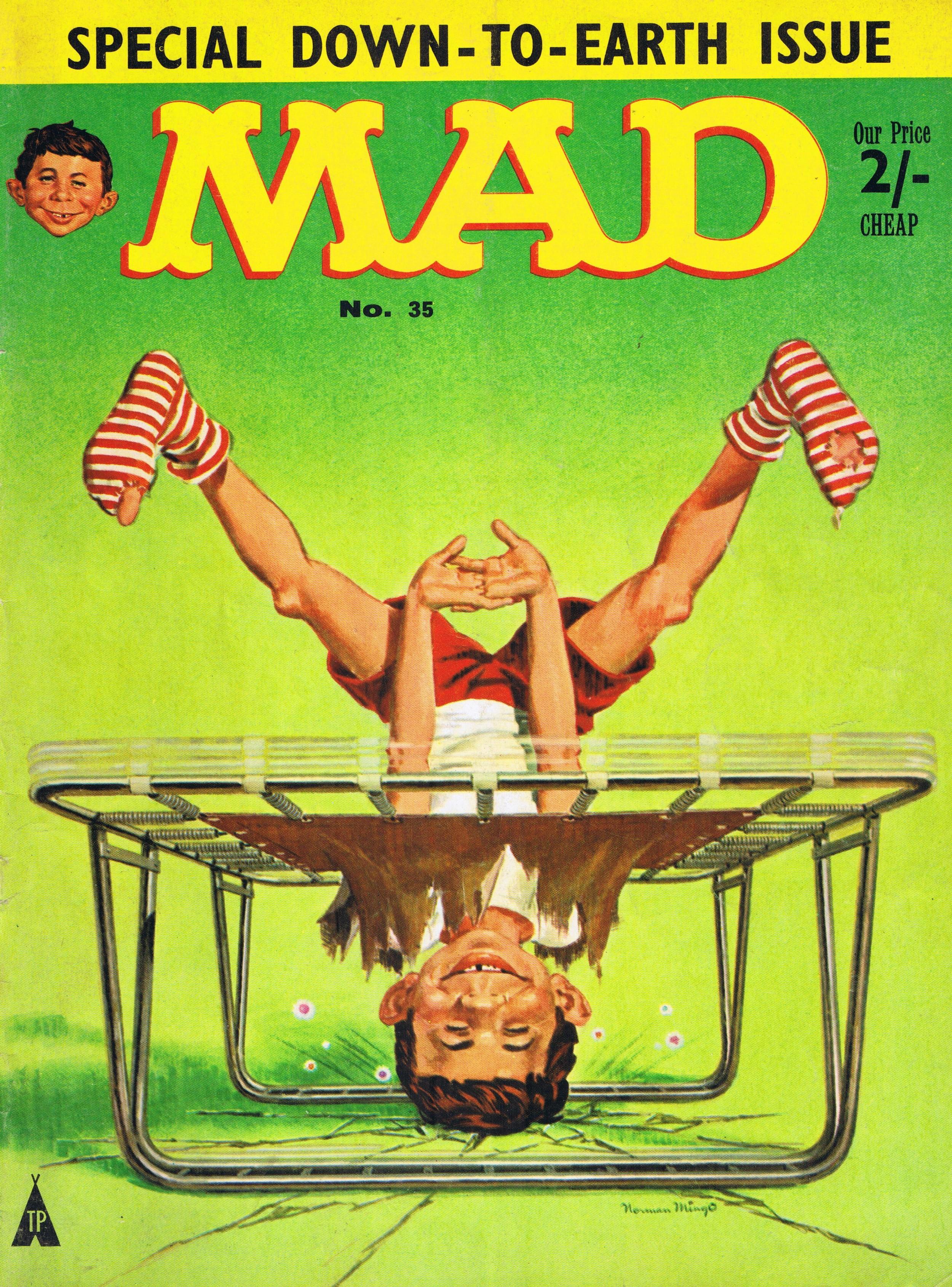 MAD Magazine #35 • Great Britain