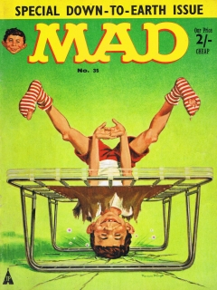 Go to MAD Magazine #35 • Great Britain