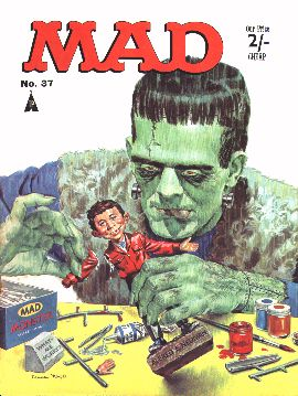 MAD Magazine #37 • Great Britain