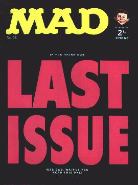 MAD Magazine #38 • Great Britain