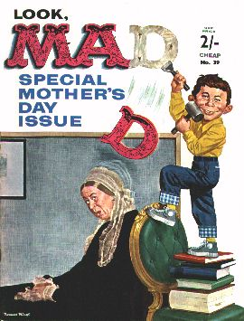 MAD Magazine #39 • Great Britain