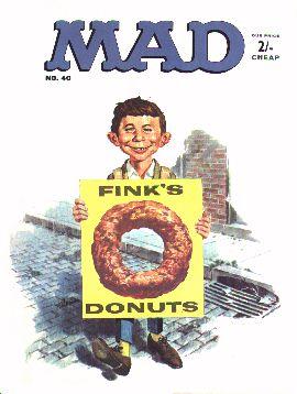 MAD Magazine #40 • Great Britain