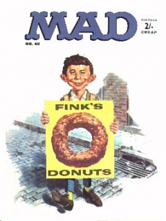 Go to MAD Magazine #40 • Great Britain