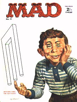 MAD Magazine #41 • Great Britain