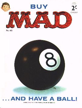 MAD Magazine #42 • Great Britain