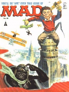 Go to MAD Magazine #43 • Great Britain