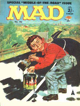 MAD Magazine #45 • Great Britain