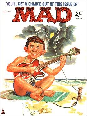 MAD Magazine #46 • Great Britain