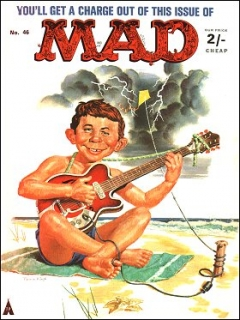 Go to MAD Magazine #46 • Great Britain