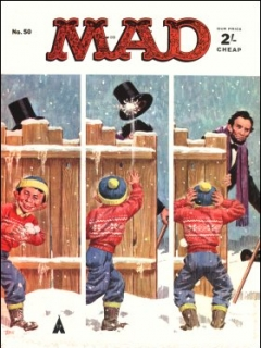 Go to MAD Magazine #50 • Great Britain