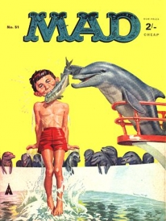 Go to MAD Magazine #51 • Great Britain