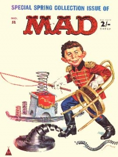 Go to MAD Magazine #52 • Great Britain