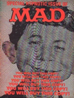 Go to MAD Magazine #53 • Great Britain