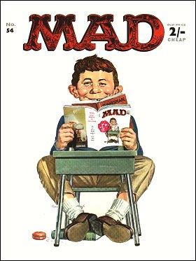 MAD Magazine #54 • Great Britain