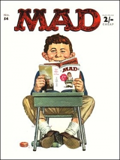 Go to MAD Magazine #54 • Great Britain