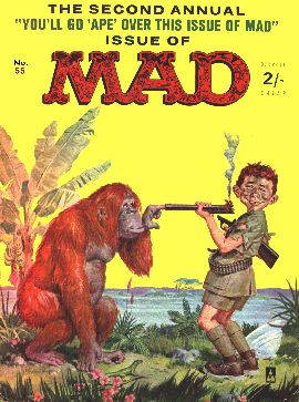 MAD Magazine #55 • Great Britain