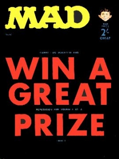Go to MAD Magazine #57 • Great Britain