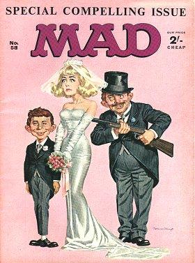 MAD Magazine #58 • Great Britain