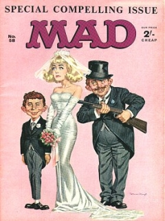 Go to MAD Magazine #58 • Great Britain