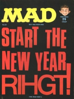 Go to MAD Magazine #60 • Great Britain