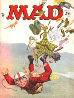 Go to MAD Magazine #61 • Great Britain