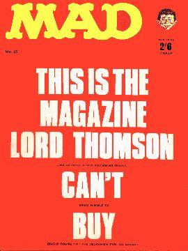 MAD Magazine #65 • Great Britain