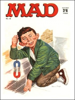 Go to MAD Magazine #66 • Great Britain