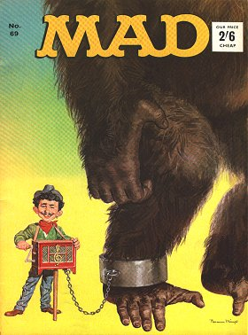 MAD Magazine #69 • Great Britain