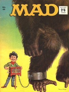 Go to MAD Magazine #69 • Great Britain
