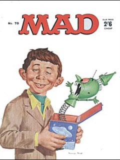 Go to MAD Magazine #70 • Great Britain