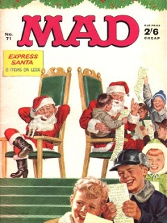 Go to MAD Magazine #71 • Great Britain