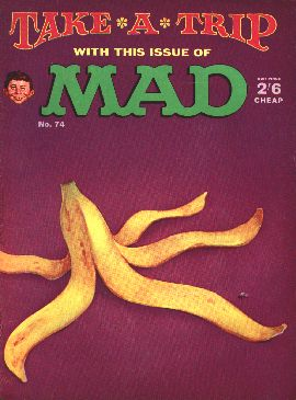 MAD Magazine #74 • Great Britain
