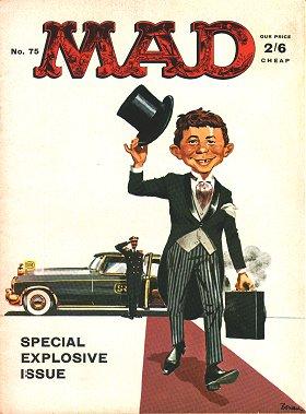 MAD Magazine #75 • Great Britain