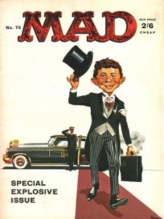 Go to MAD Magazine #75 • Great Britain