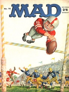 Go to MAD Magazine #76 • Great Britain