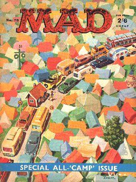 MAD Magazine #78 • Great Britain