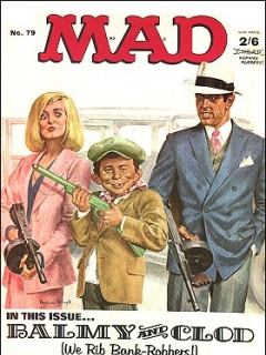 Go to MAD Magazine #79 • Great Britain