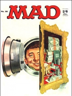 Go to MAD Magazine #80 • Great Britain