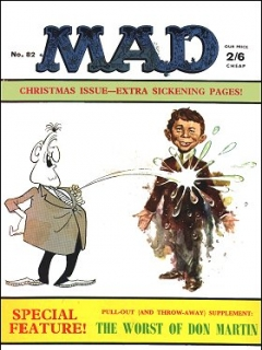 Go to MAD Magazine #82 • Great Britain