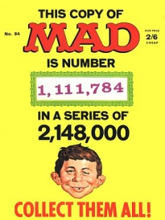 Go to MAD Magazine #84 • Great Britain