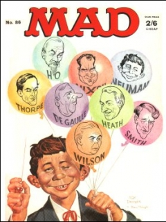 Go to MAD Magazine #86 • Great Britain