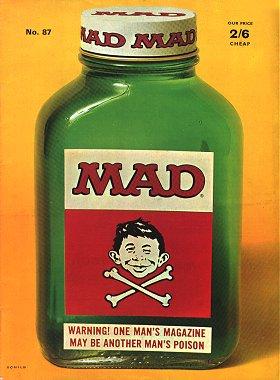 MAD Magazine #87 • Great Britain