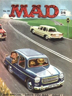 Go to MAD Magazine #88 • Great Britain